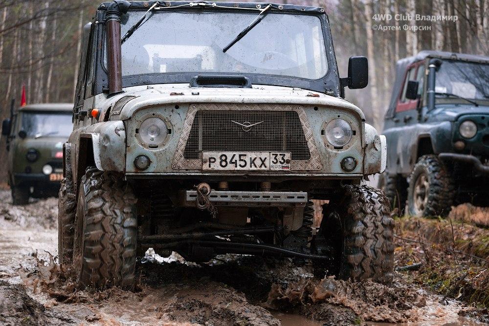 4WD club 19.11.2017 (д.Улыбышево-Вяткино) 11