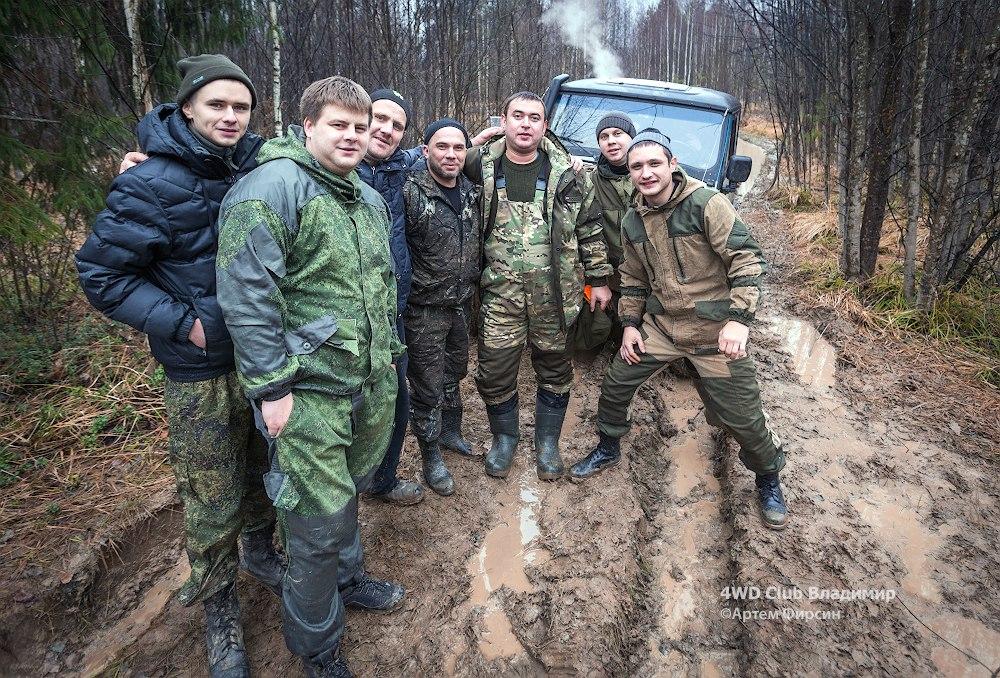 4WD club 19.11.2017 (д.Улыбышево-Вяткино) 17
