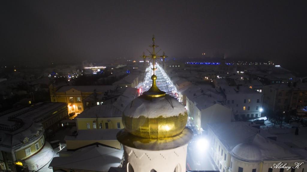 Аэросъемка зимнего Владимира от Алексея Кузнецова 06