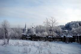 Благовещенский Собор. Вид со стороны «Фатьяновского парка».