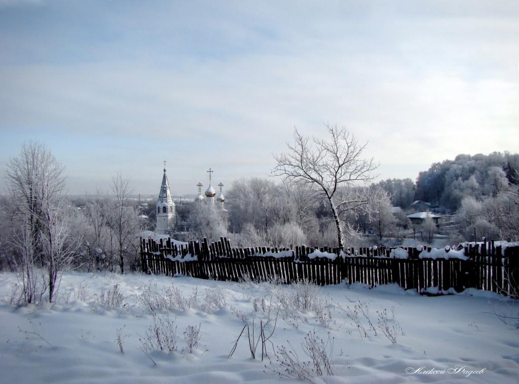 Благовещенский Собор. Вид со стороны Фатьяновского парка.