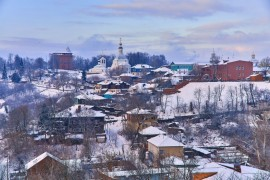 Зимний Владимир, декабрь 2017