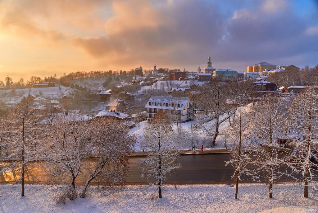 На закате ( конец декабря, во Владимире ) 03