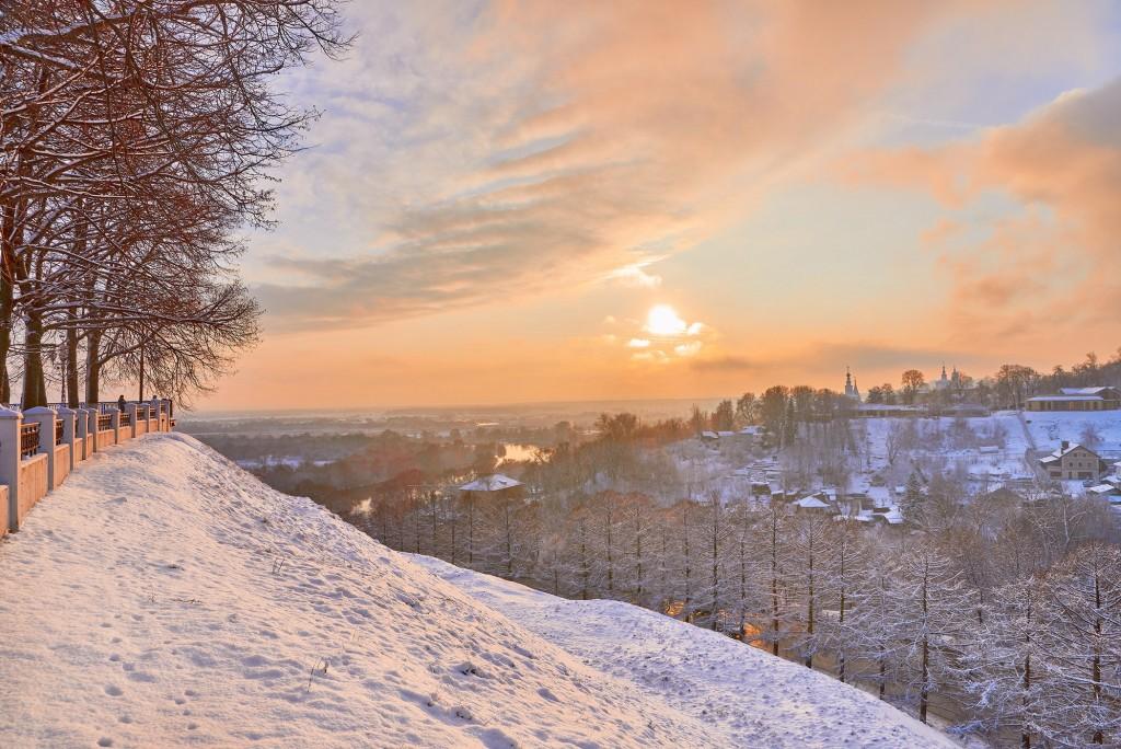 На закате ( конец декабря, во Владимире ) 05