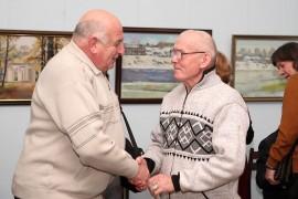 Открытие ежегодной выставки ковровских художников, 30 ноября 2017