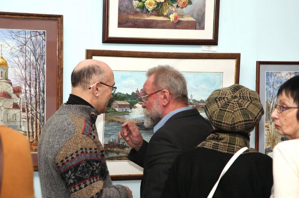 Открытие ежегодной выставки ковровских художников, 30 ноября 2017 03