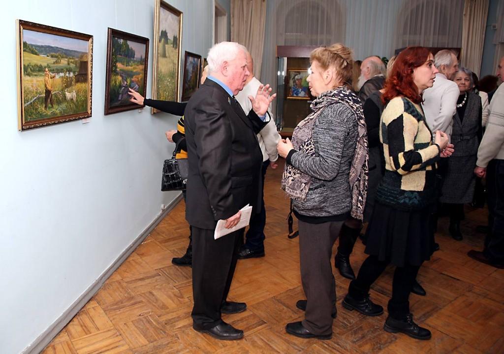 Открытие ежегодной выставки ковровских художников, 30 ноября 2017 04