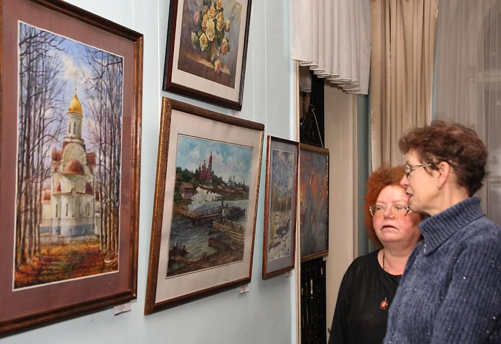 Открытие ежегодной выставки ковровских художников, 30 ноября 2017 05