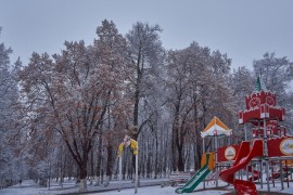 Первые дни зимы во Владимире
