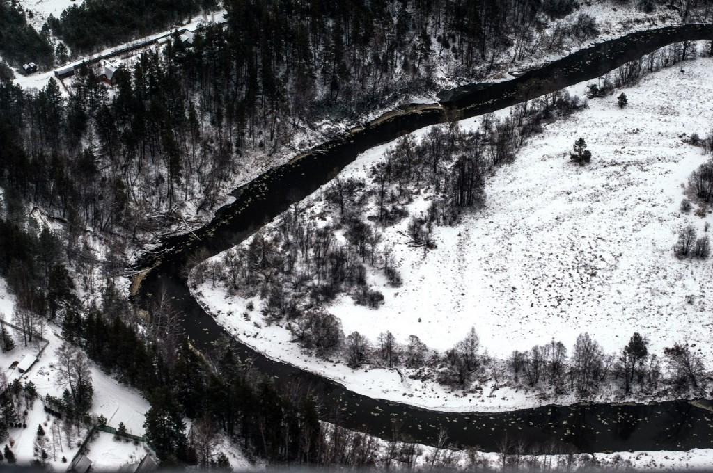 Полёт на вертолете над Владимирской областью 05