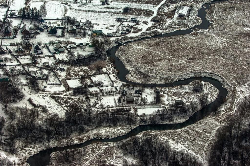 Полёт на вертолете над Владимирской областью 16