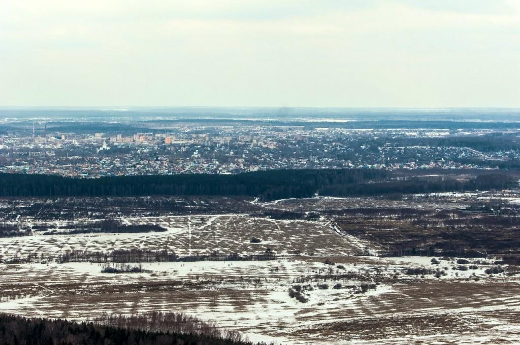 Полёт на вертолете над Владимирской областью 21