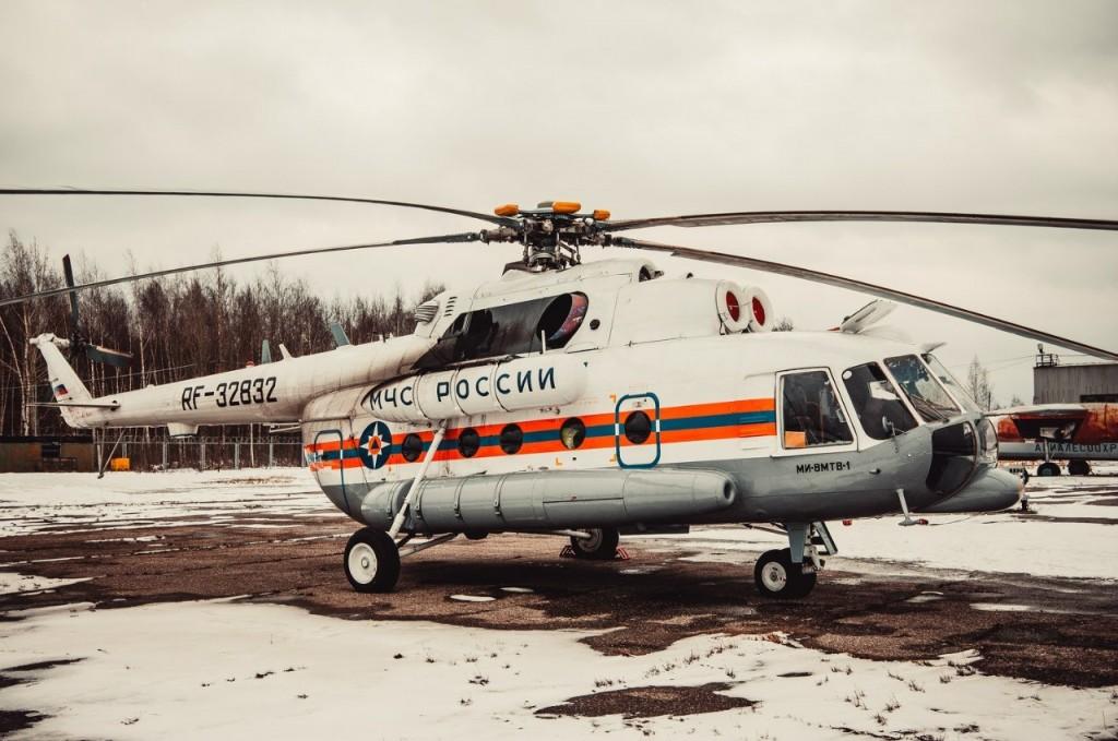 Полёт на вертолете над Владимирской областью 29