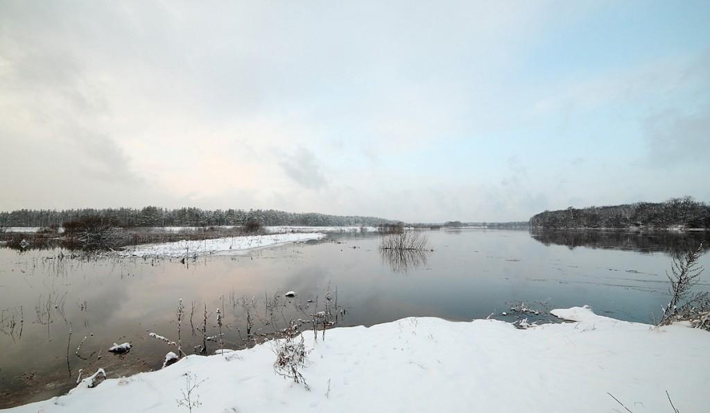 Разлив на реке Клязьма 22 декабря сего года 03