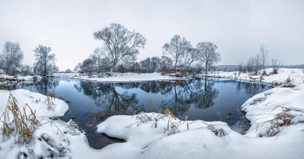 Река Серая у Немецких гор.