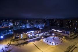 СК «Молодежный» с высоты, Ковров