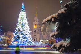 #Снегопад #Зима #Владимир