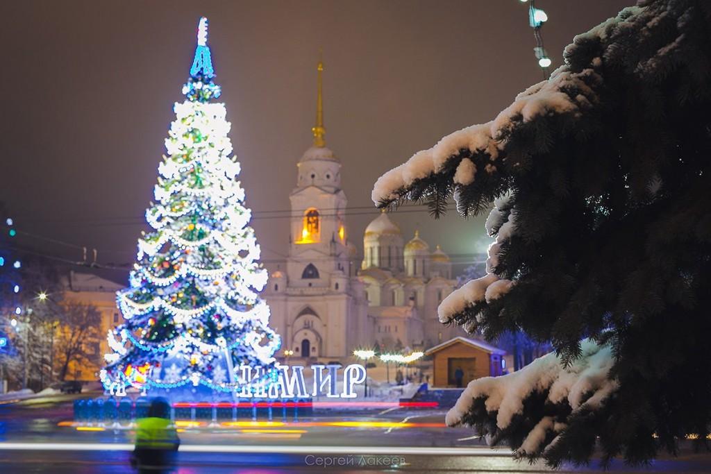 #Снегопад #Зима #Владимир 01