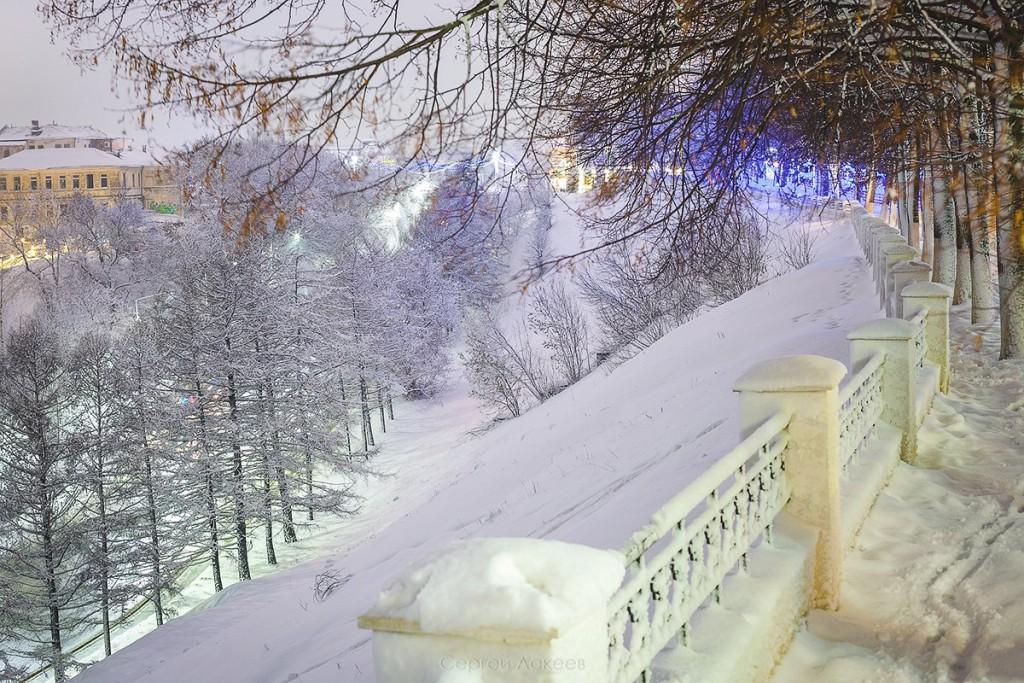 #Снегопад #Зима #Владимир 06