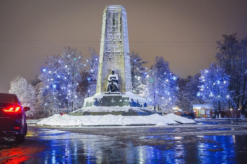 #Снегопад #Зима #Владимир 07