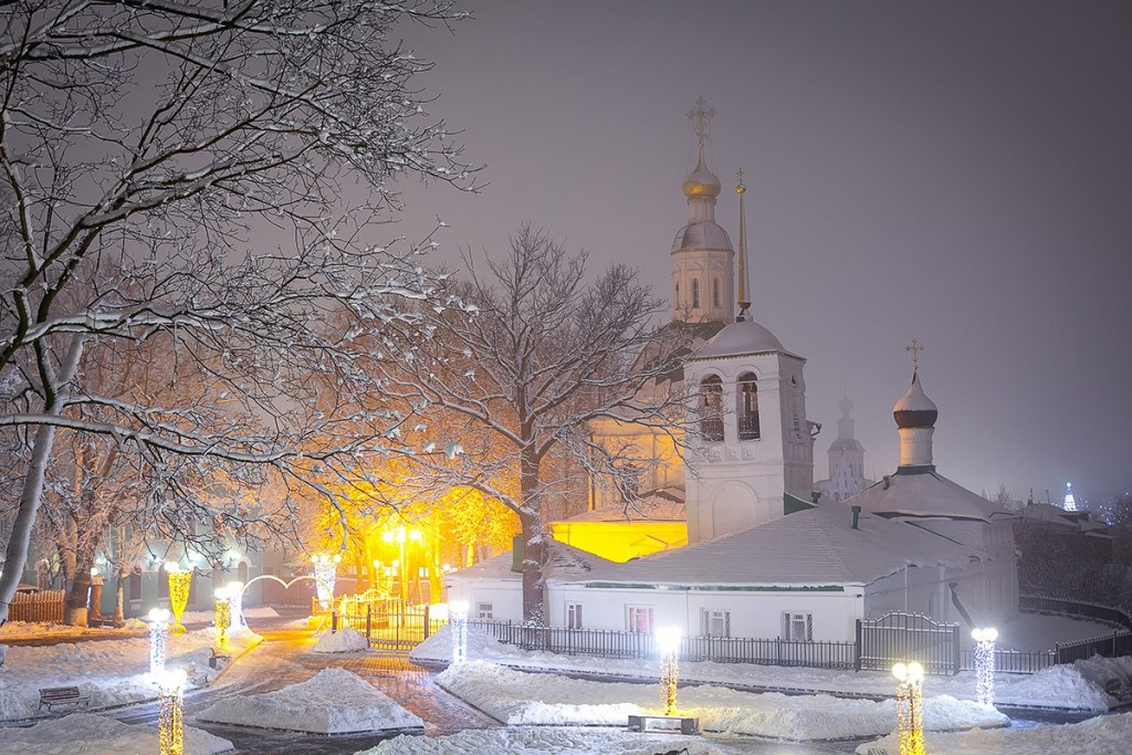 #Снегопад #Зима #Владимир 08