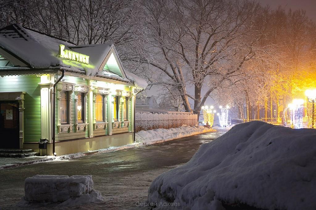 #Снегопад #Зима #Владимир 09