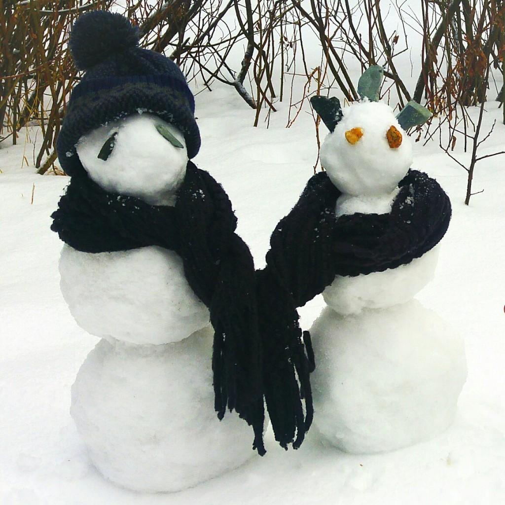Фото ваших снеговиков 02