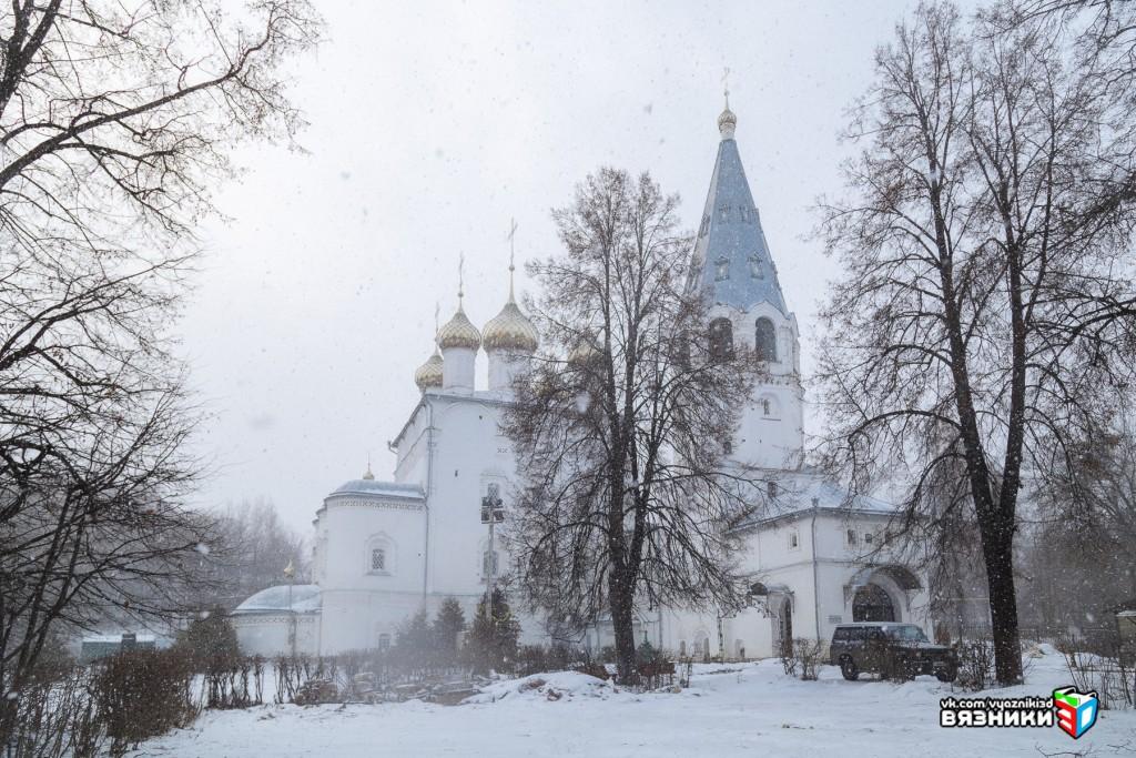 Благовещенский монастырь в январе