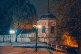 Владимирские январские сумерки