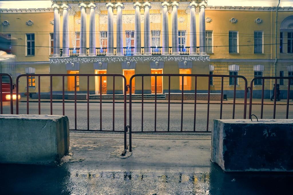 Владимирские январские сумерки 07