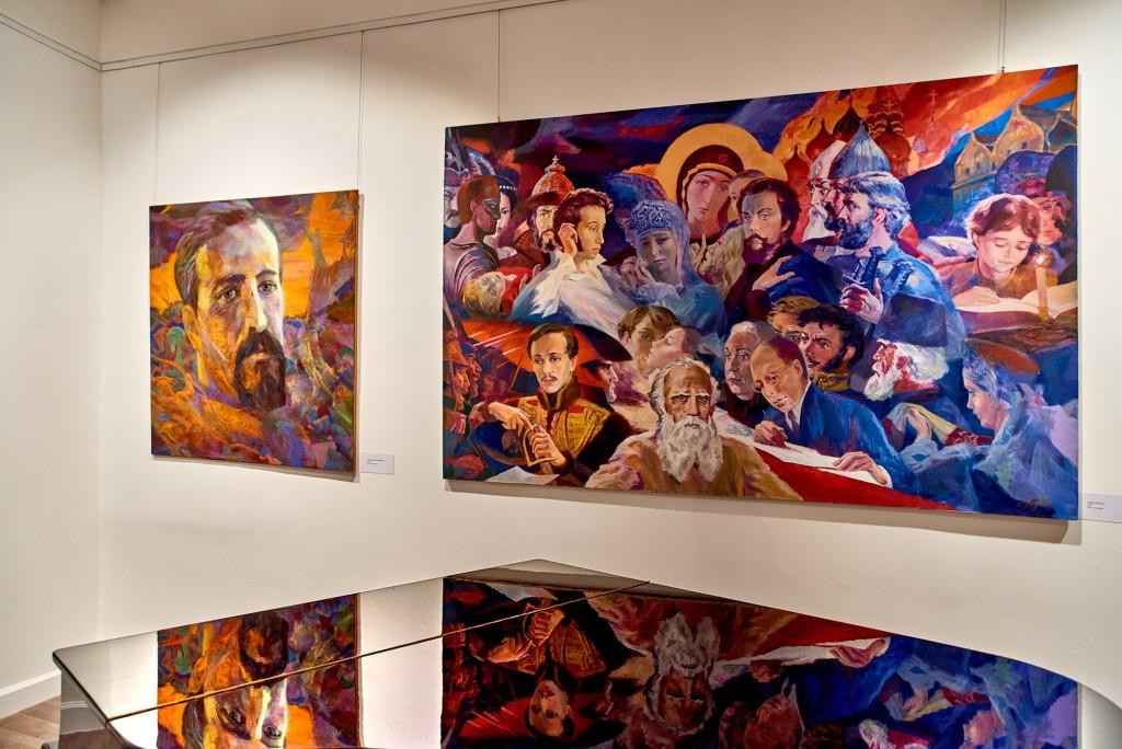 Выставка замечательного художника Георгия Шишкина 01