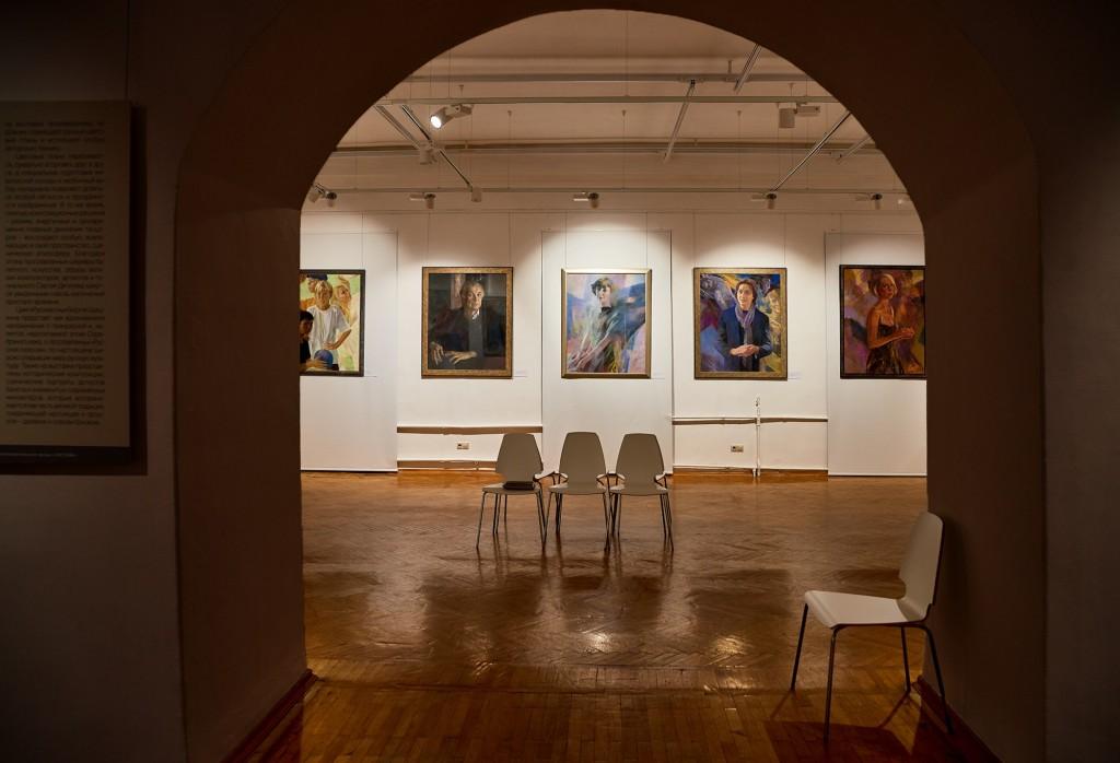 Выставка замечательного художника Георгия Шишкина 02