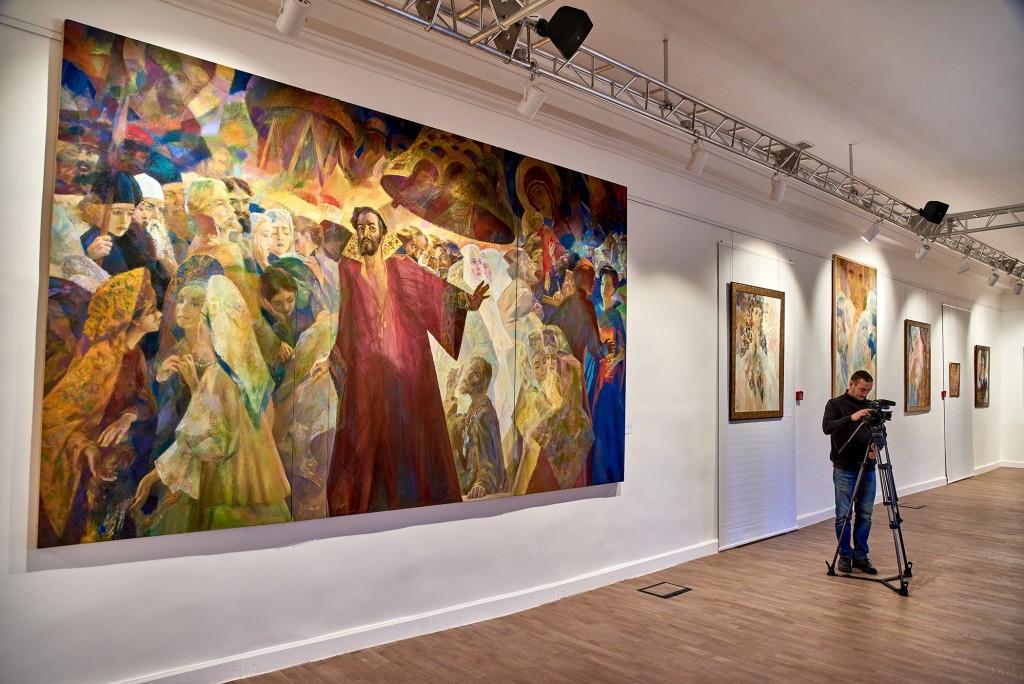 Выставка замечательного художника Георгия Шишкина 06