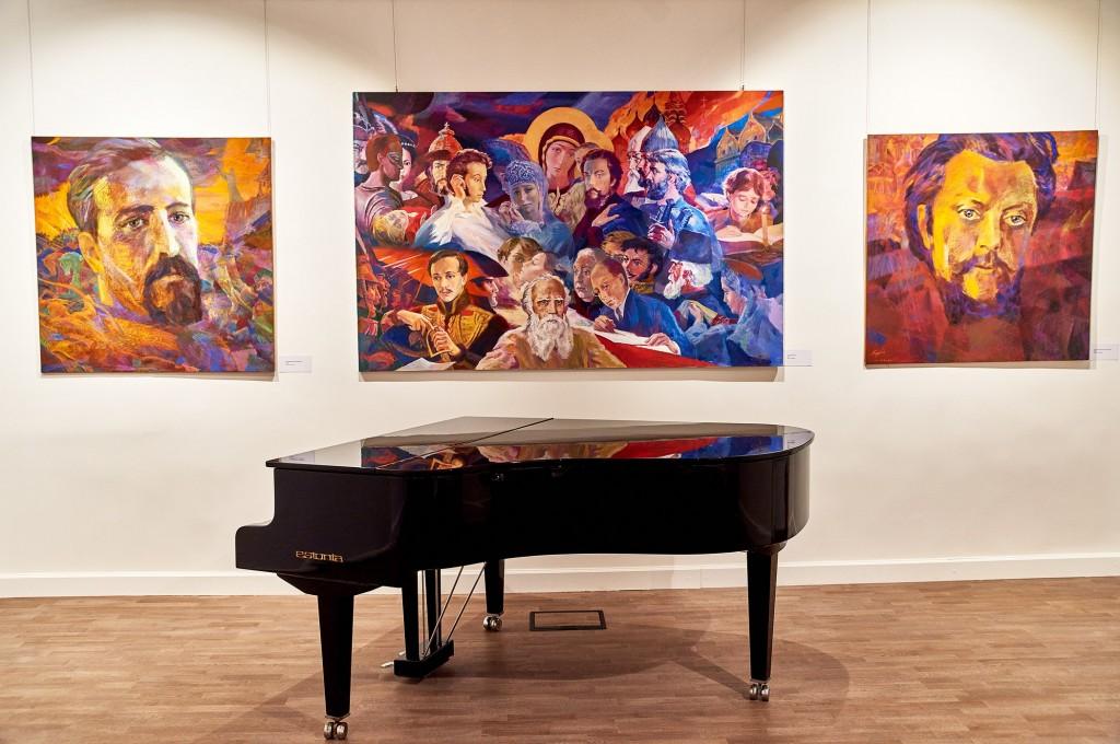 Выставка замечательного художника Георгия Шишкина 08