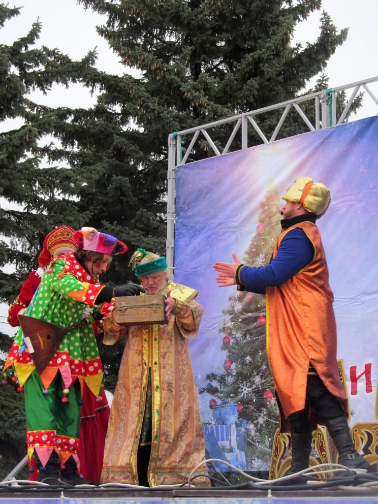 Гороховец в Рождество 04