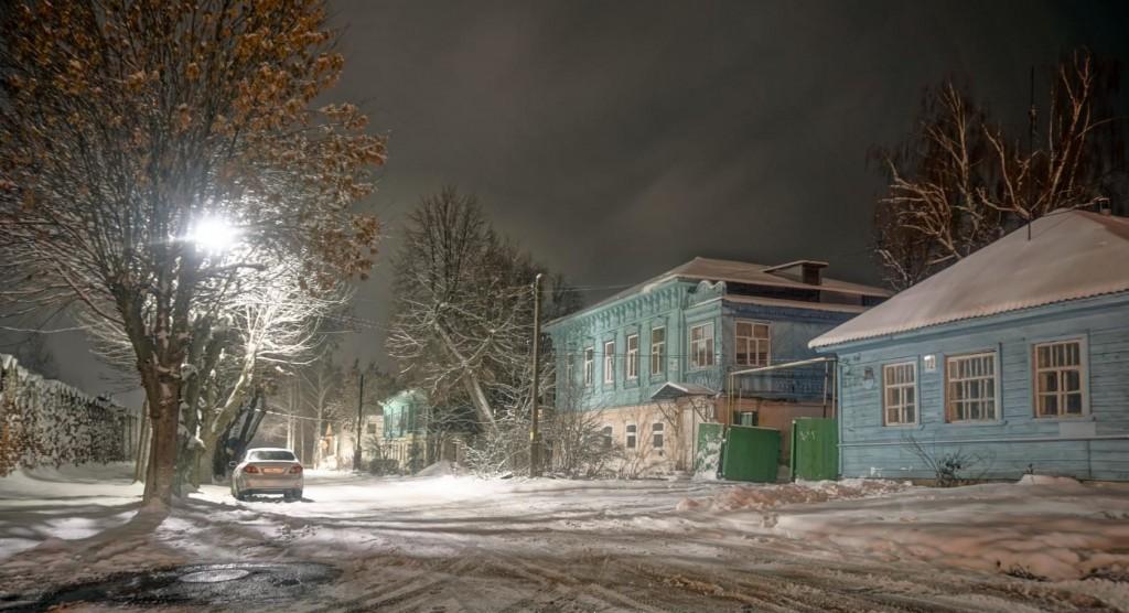 Зимний вечер в Муроме