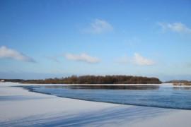 Зимний день на Клязьме, Вязниковский район