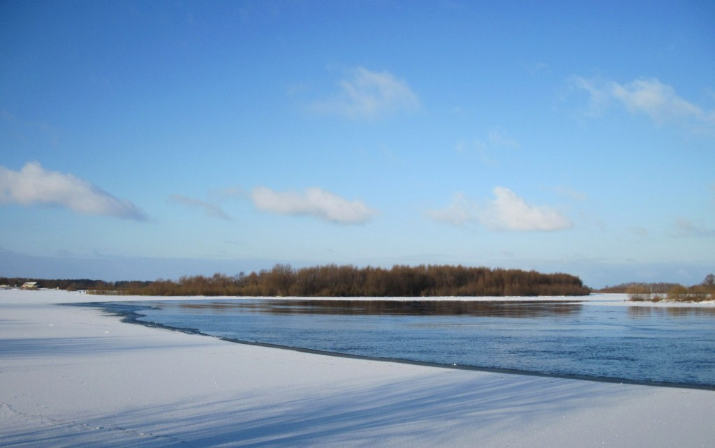 Зимний день на Клязьме, Вязниковский район 01