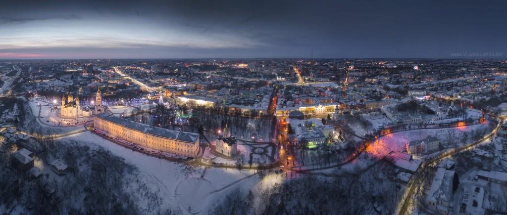 Зимняя Панорама Владимира
