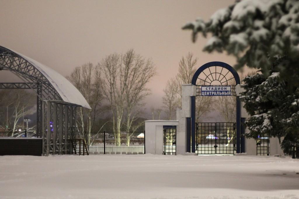 Когда зимой совсем немного снега, г.Гусь-Хрустальный 02