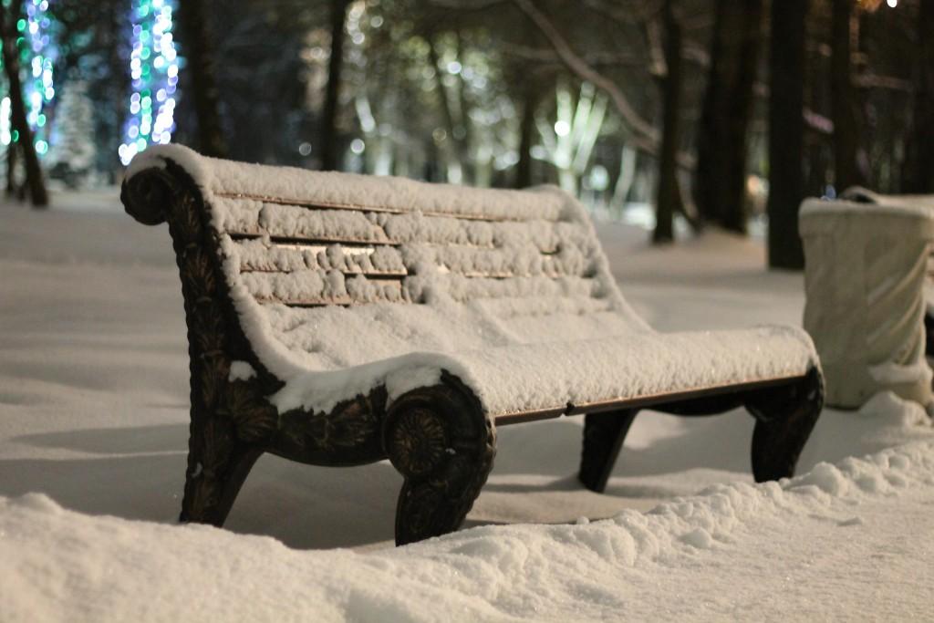 Когда зимой совсем немного снега, г.Гусь-Хрустальный 05