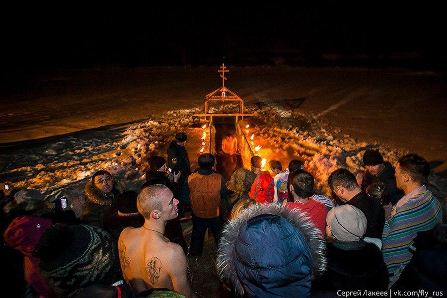 Крещение в Кидекше, 2018 03