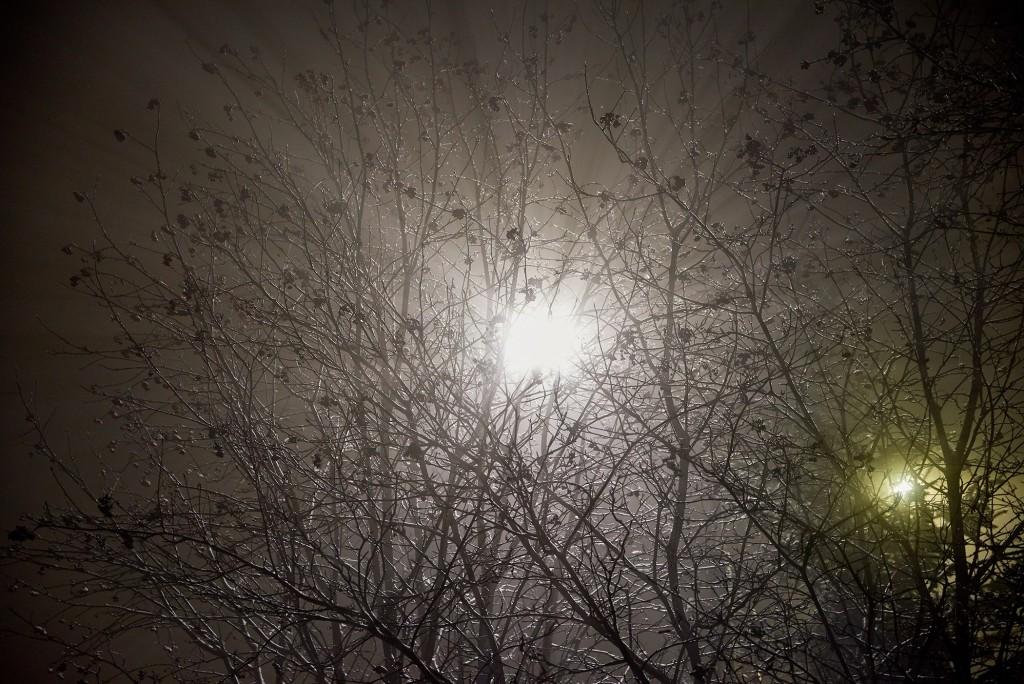 Новогоднее небо во Владимире ( январь 2018) 04