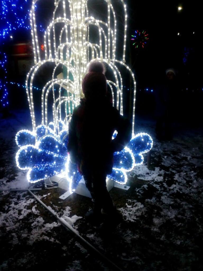 Новогоднее украшение Мстёры, Вязниковский район 02