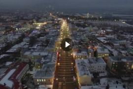 Новогодний Владимир 2017-2018, видео