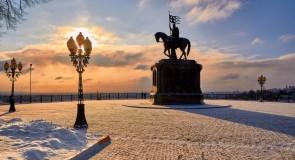 Однажды во Владимире… когда выглянуло солнце (январь 2017)