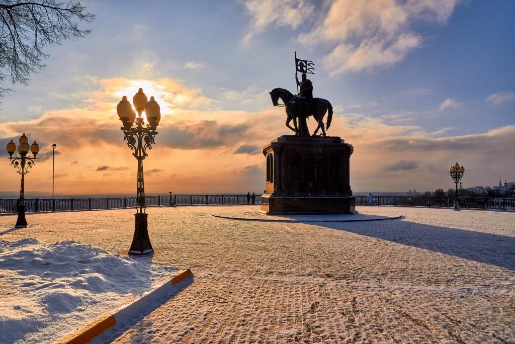 Однажды во Владимире... когда выглянуло солнце (январь 2017) 01