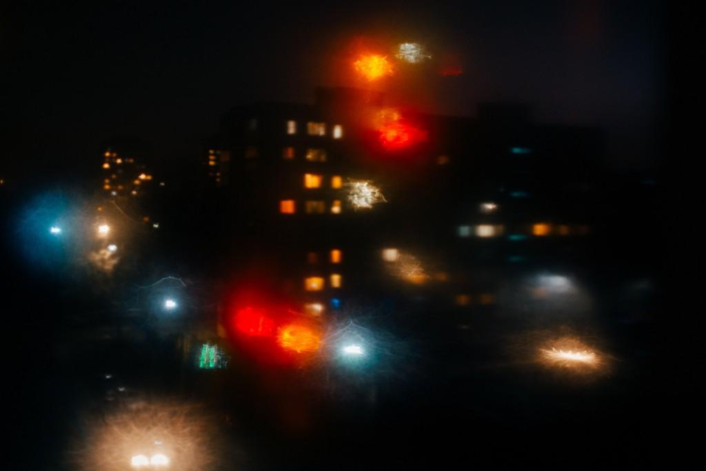 Стекла и новогодние праздники в помощь - прошу в бесснежных городских огней космос 02
