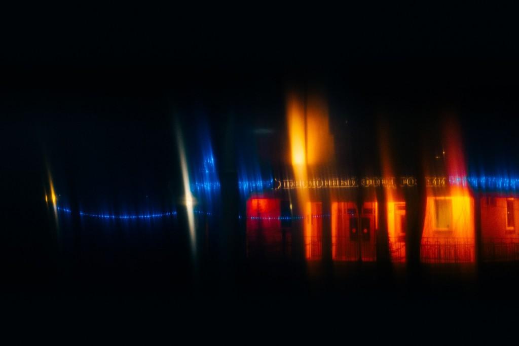 Стекла и новогодние праздники в помощь - прошу в бесснежных городских огней космос 05