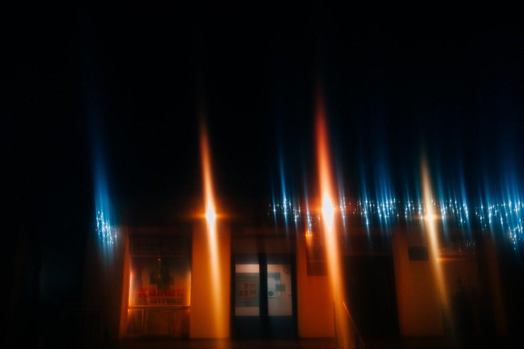 Стекла и новогодние праздники в помощь - прошу в бесснежных городских огней космос 09